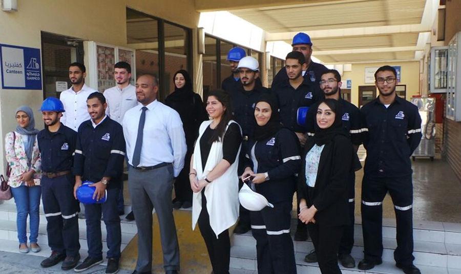 GARMCO Hosts University Students Under Their Training Program