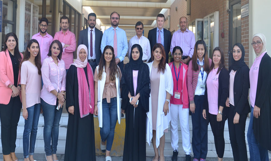 GARMCO Employees Take Place in Bahrain Cancer Society Walkathon