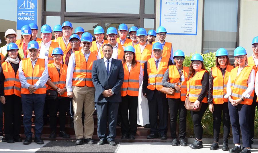 AmCham Bahrain Tours GARMCO Plant