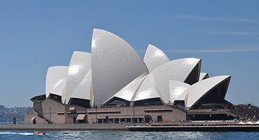 The Sydney Opera House in Australia